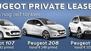 Peugeot Private lease bij Auto Ridderhof BV
